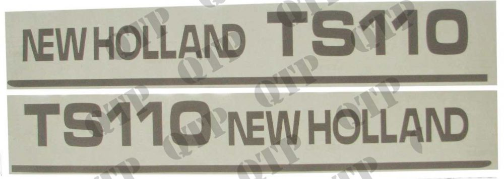 Decal New Holland TS110 - Set